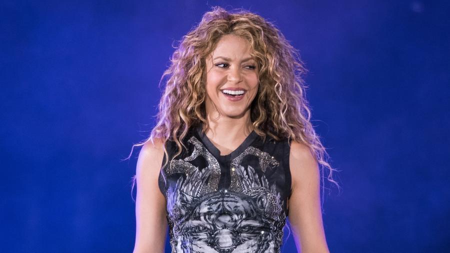 Shakira en concierto en el Madison Square Garden 2018