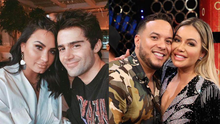 Demi Lovato y Max Ehrich, Chiquis Rivera y Lorenzo Méndez