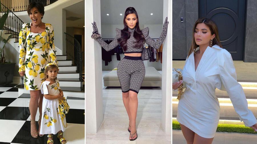 Kris Jenner, Kim Kardashian y Kylie Jenner