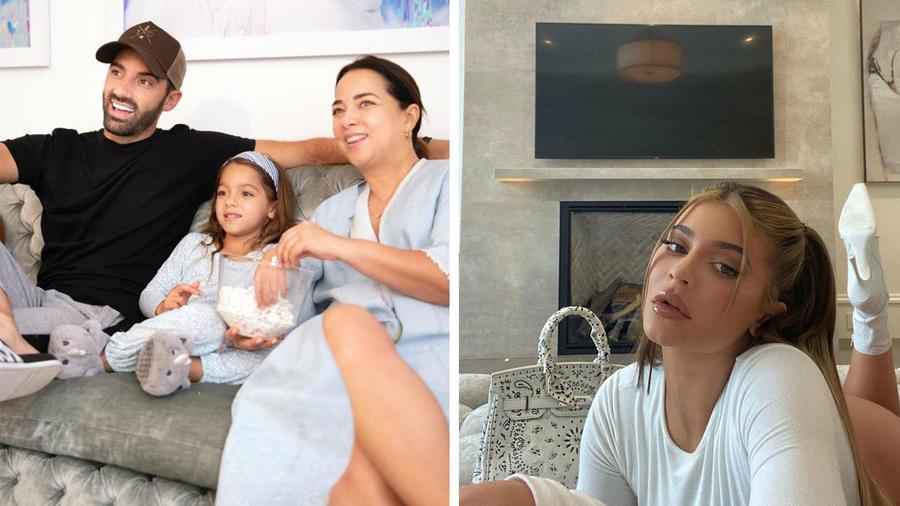 Sala de Adamari López y Kylie Jenner