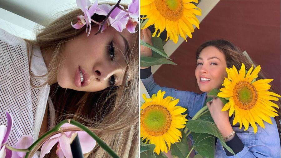 Thalía y Danna Paola