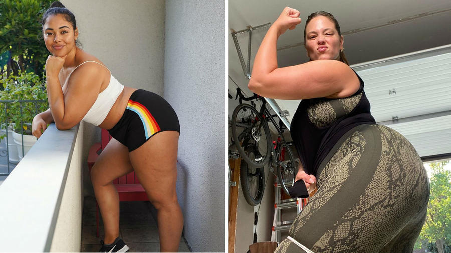 Tabria Majors y Ashley Graham