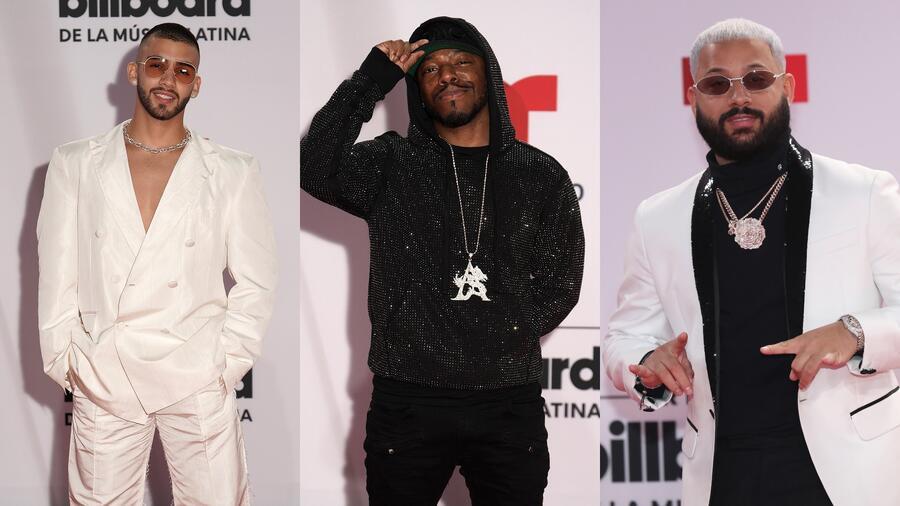 Manuel Turizo, Sisqó y Alex Rose en Premios Billboard 2020