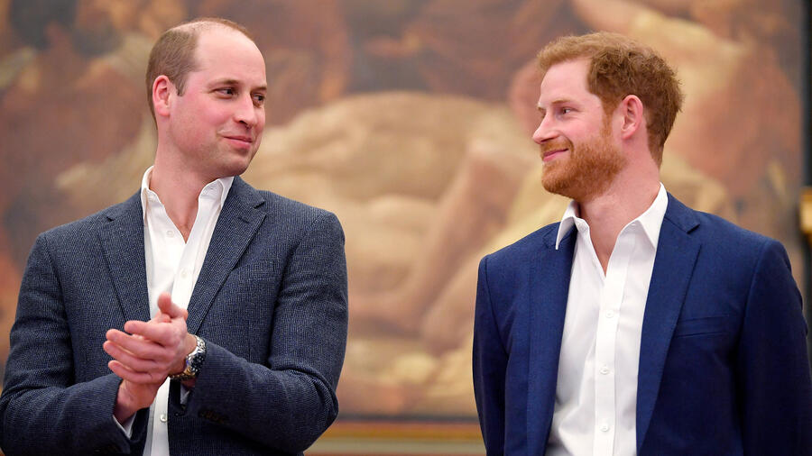 Príncipes William y Harry