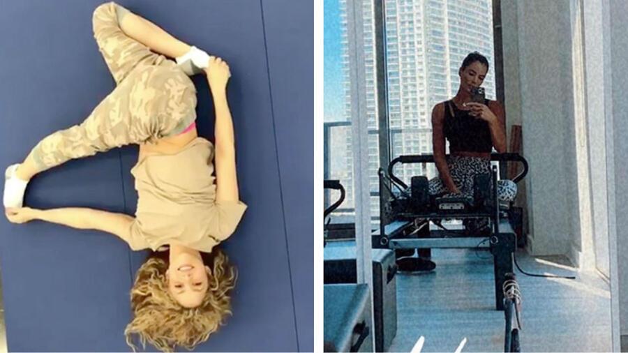 Shakira y Gaby Espino