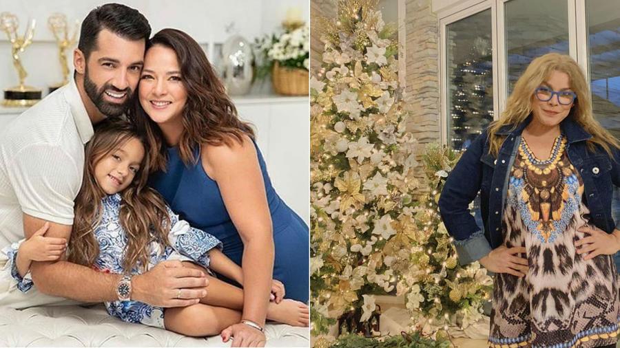 Decoración navideña de Adamari López y Olga Tañón