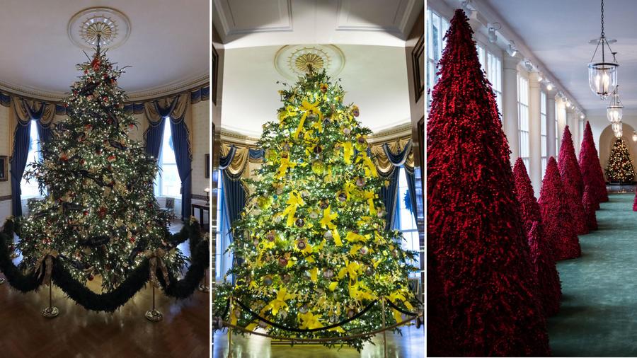 Decoración navideña Casa Blanca