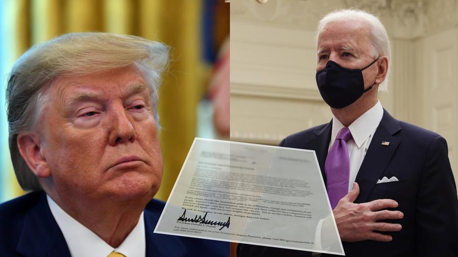 Carta de Donald Trump a Joe Biden