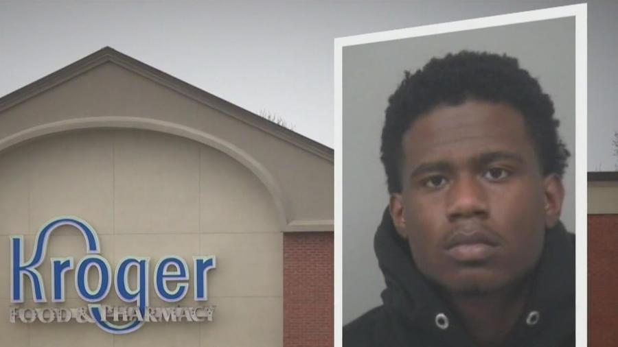 Joven acusado de robar en Kroger