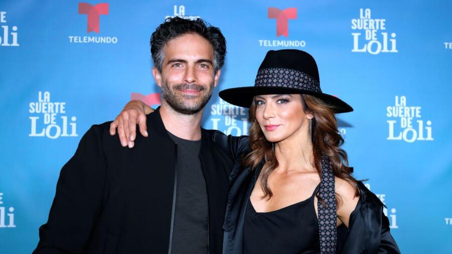Silvia Navarro y Osvaldo Benavides en La Suerte de Loli