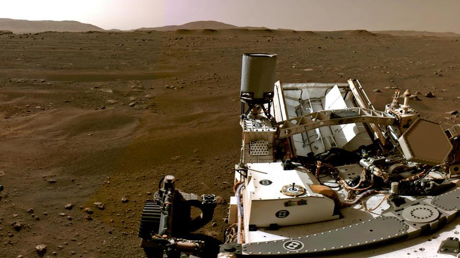Rover Perseverance de la NASA en marte