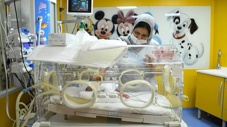 Madre da a luz a nueve bebés en Marruecos
