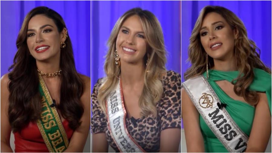 Julia Gama, Alina Luz Akselrad y Mariangel Villasmil