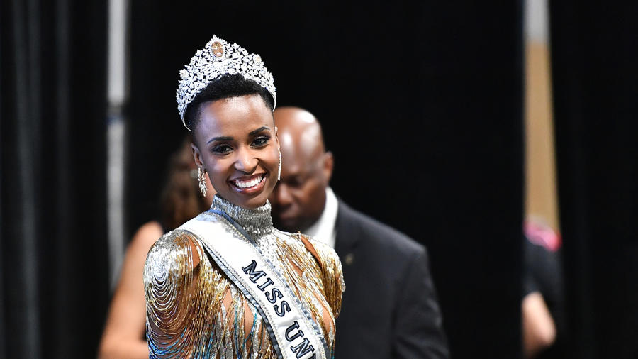 Zozibini Tunzi, Miss Sudáfria 2019, ganadora de Miss Universo 2019, 68 Edición