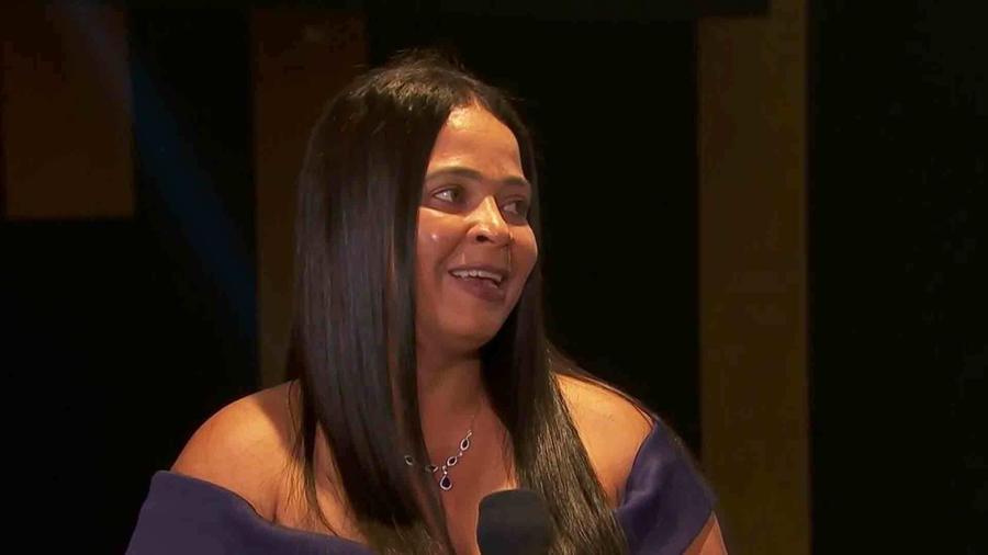 Mama de Miss República Dominicana 2020, candidata finalista de Miss Universo 2021, 69 edición, entrevista con Telemundo
