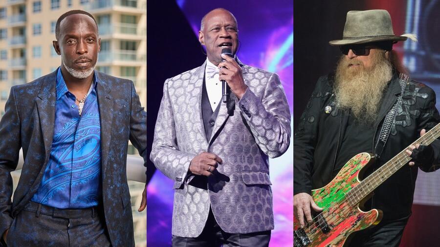 Michael K. Williams, Jhonny Ventura y Dusty Hill