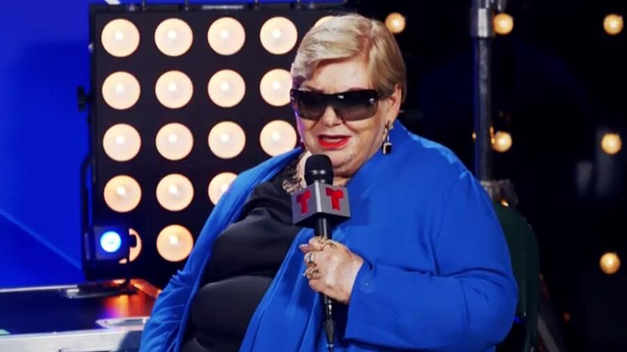 Paquita la del Barrio en el backstage de los Premios Billboard de la Música Latina 2021