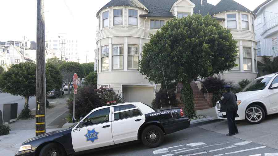 "La casa donde se filmó la película de Robin Williams, ""Mrs. Doubtfire"""