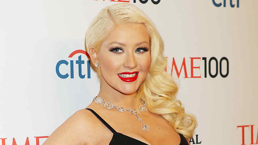 Christina Aguilera at TIME 100 Gala, TIME'S 100 Most Influential People In The World at Jazz at Lincoln Center in New York City