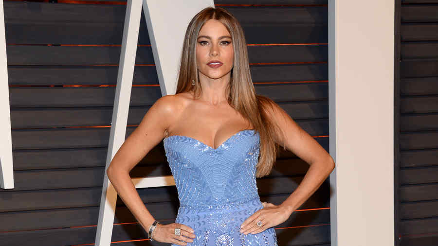 Sofía Vergara en Vanity Fair Oscar Party