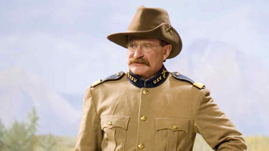 """Robin Williams en """"Night at the Museum""""."""
