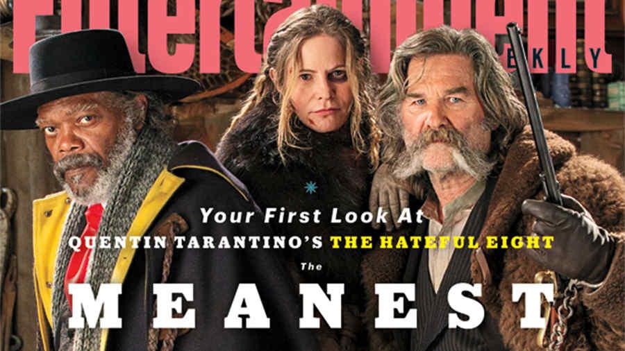 """La primera foto de la película de Quentin Tarantino, """"The Hateful Eight"""""""