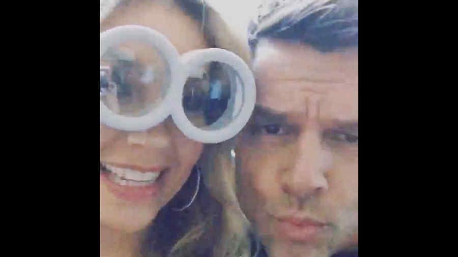 Thalía y Ricky Martin