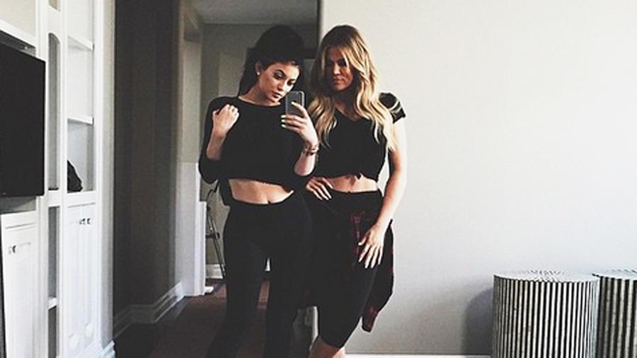 Kylie Jenner y Khloé Kardashian