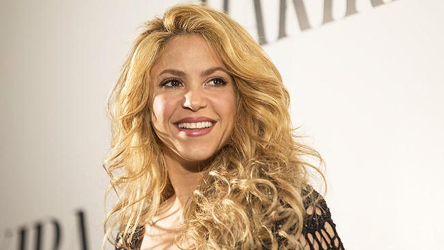 Shakira en el lanzamiento de su album 'Shakira' en Barcelona, España