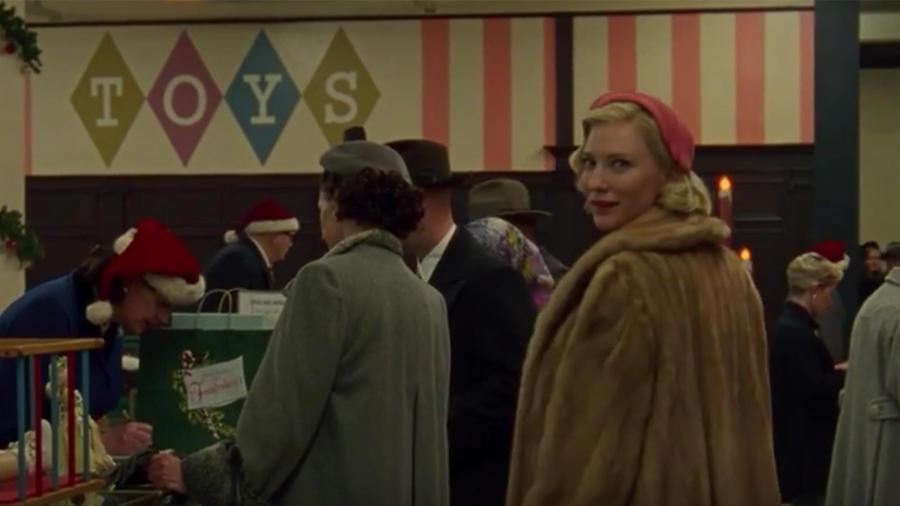 """Cate Blanchett en el nuevo tráiler de la película """"Carol""""."""