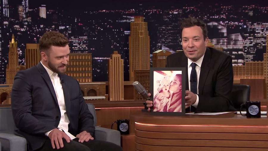Justin Timberlake en el Tonight Show con Jimmy Fallon 2015