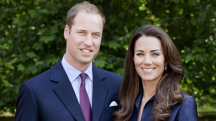 Príncipe Guillermo y su esposa Catalina.