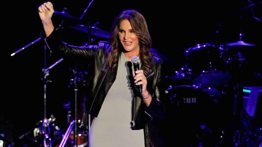 Caitlyn Jenner en el concierto de Culture Club en Los Ángeles