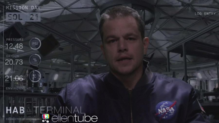 """Matt Damon en la secuela de """"The Martian"""""""