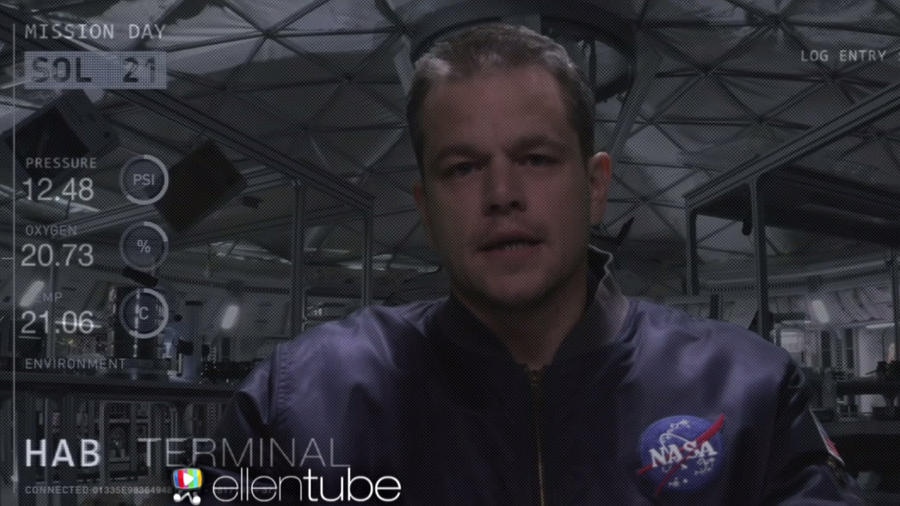 "Matt Damon en la secuela de ""The Martian"""