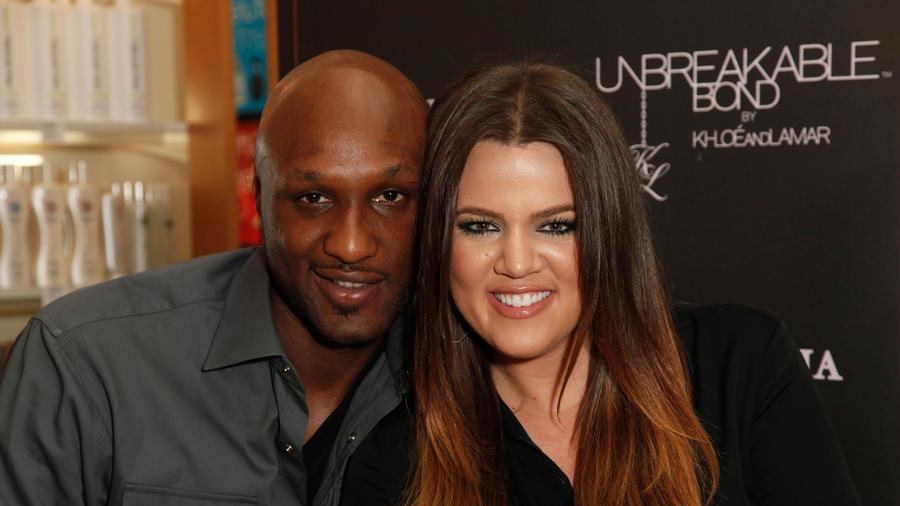 Lamar Odom y Khloé Kardashian