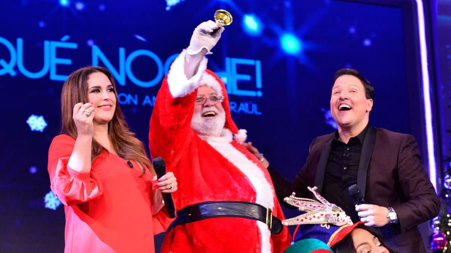 """Celebra la Navidad con la familia de """"¡Qué Noche! Con Angélica y Raúl"""""""