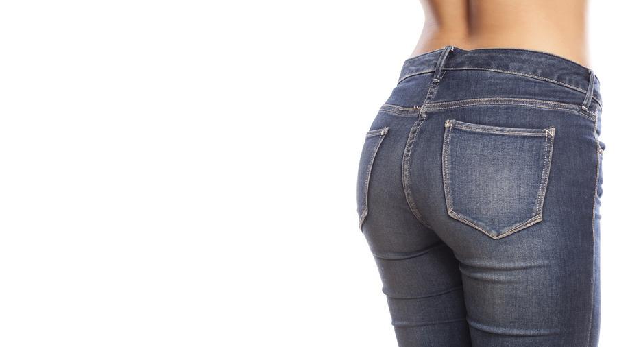 Trasero de mujer con jeans