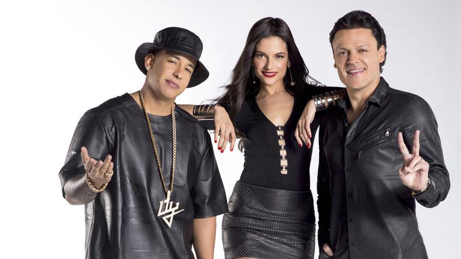 Daddy Yankee, Natalia Jiménez y Pedro Fernández