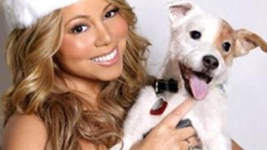 Mariah Carey y su perro