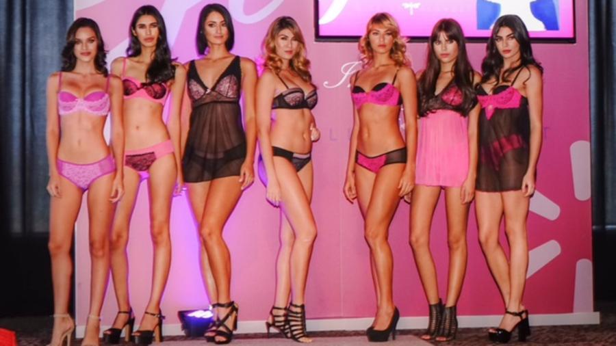 Modelos del lanzamiento de Gi Intimates by Giselle Blondet