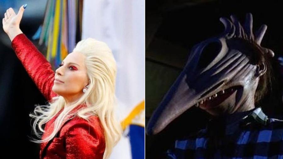 Meme de Lady Gaga y Beetle Juice