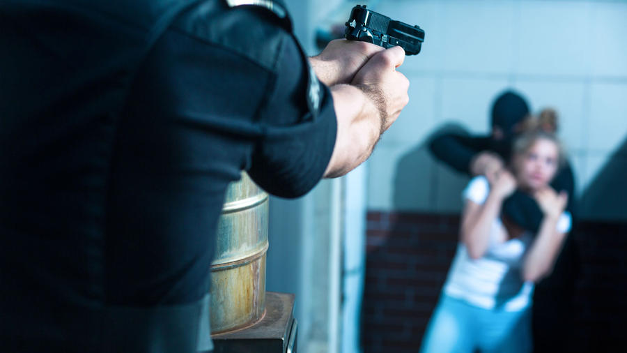 Mujer secuestra a punto de ser asesinada