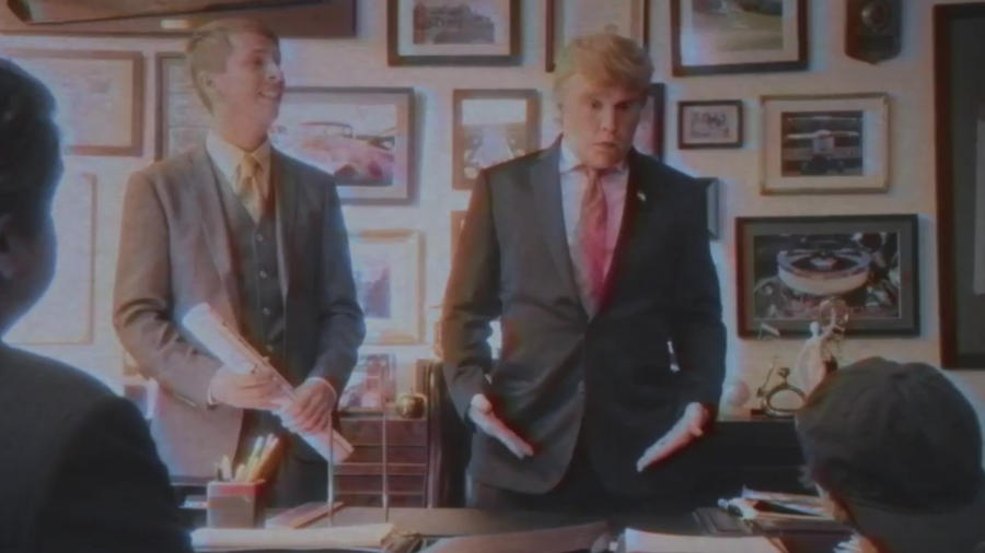Johnny Depp se disfraza de Donald Trump para un documental de Funny or Die
