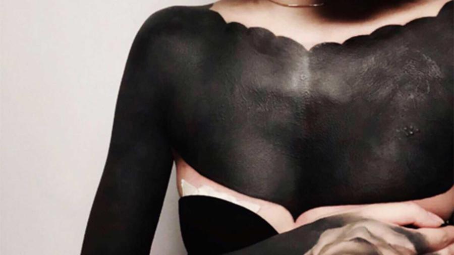 tatuaje en todo el cuerpo