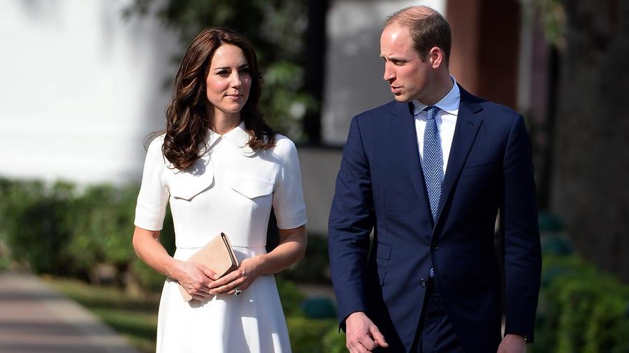 Príncipe Guillermo y Catalina