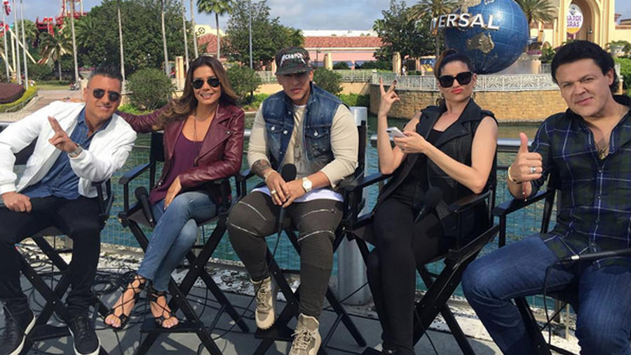 Jorge Bernal Patricia Manterola Daddy Yankee Natalia Jiménez y Pedro Fernández La Voz Kids 2016