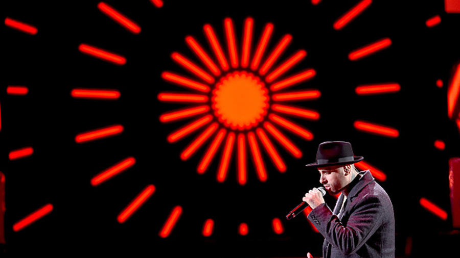 Nicky Jam en los Latin Grammys 2015