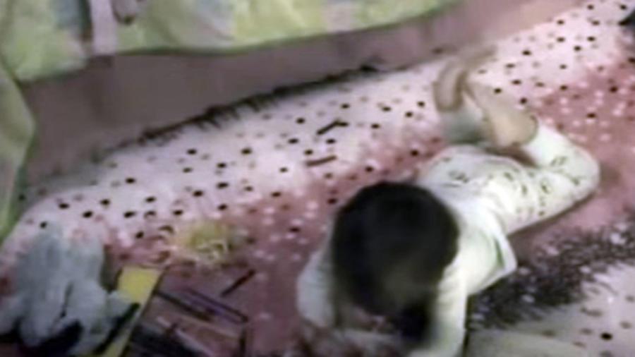 Supuesto demonio rapata a una niña -video