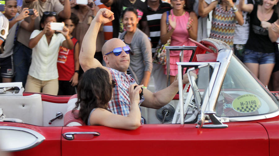 Fast & Furious 8 Films In Cuba